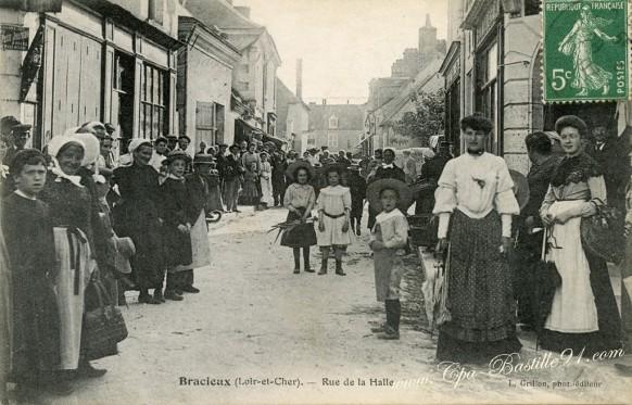 Bracieux-Rue de la Halle