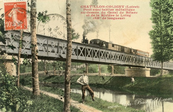 Chatillon-Coligny-Pont-avec-tablier-métallique