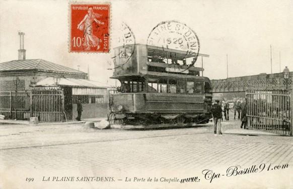 La-Plaine-Saint-Denis-La-Porte-de-la-Chapelle-Le Tramways
