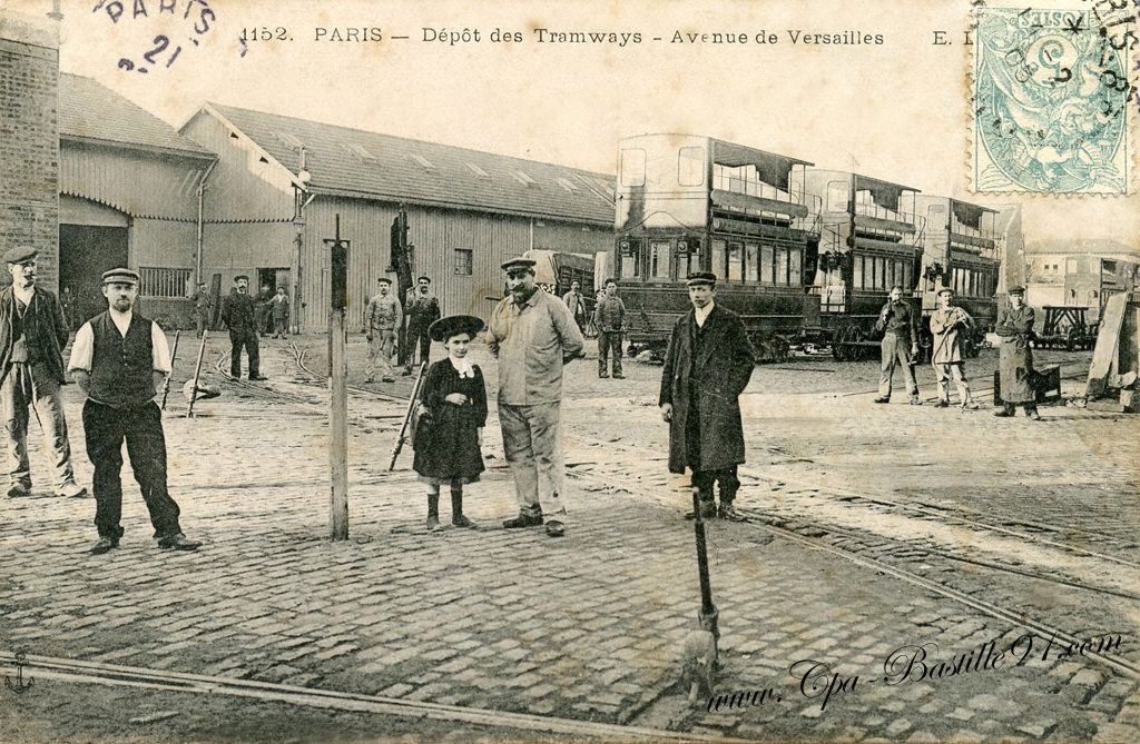 Tramways Cartes Postales Anciennes