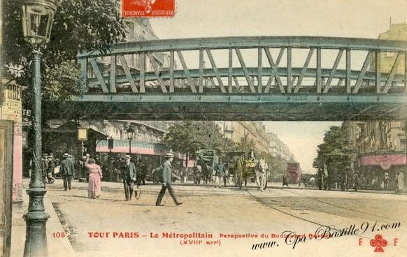 Tout-paris-Le-métropolitain-boulevard-Barbes