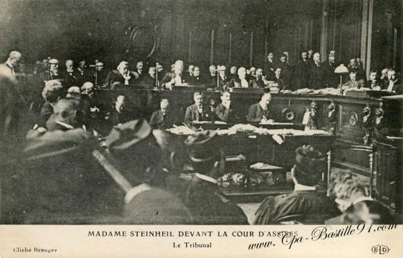 Madame Steinheil devant la cour d'assises-Le tribunal