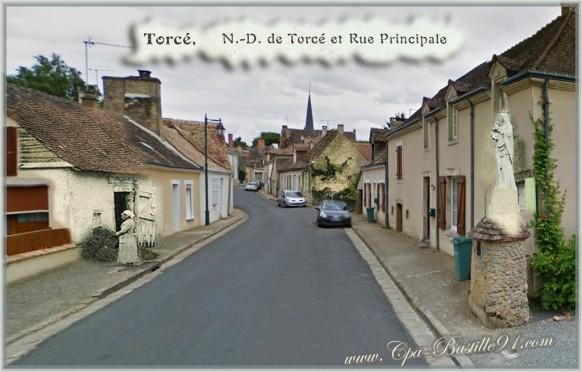 Ville de Torcé en Vallée-d'hier à Aujourd'hui