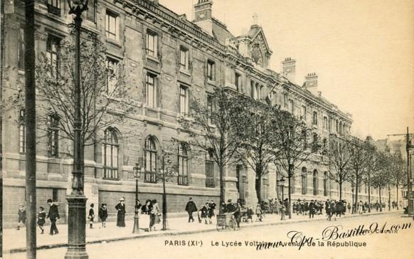 Le-lycée-Voltaire-Avenue-de-la-république