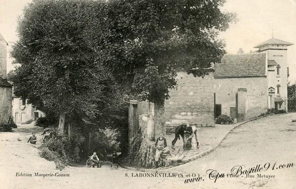 Méry-sur-Oise-Labonneville-rue-de-loise-rue-Metuyer -  Cliquez sur la carte pour l'agrandir et en voir tous les détails