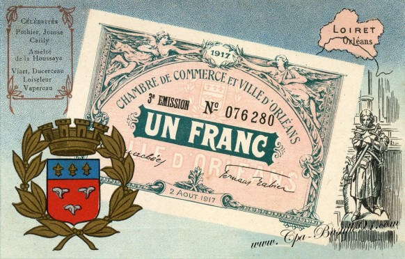 Un-francs-CHAMBRE-DE-COMMERCE-dOrléans-Loiret