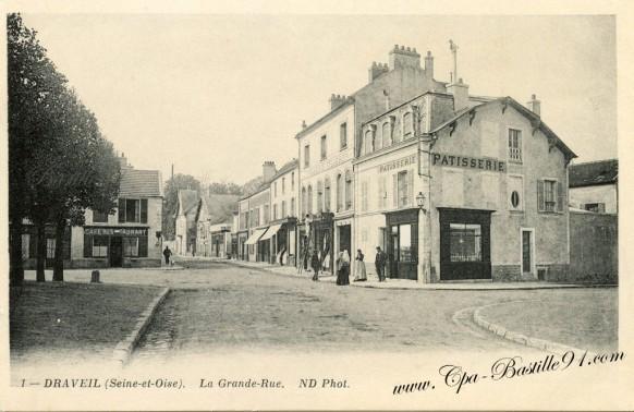 Draveil-La grande Rue