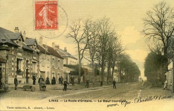 Linas-La-route-dOrleans-Le-Boeuf-Couronné