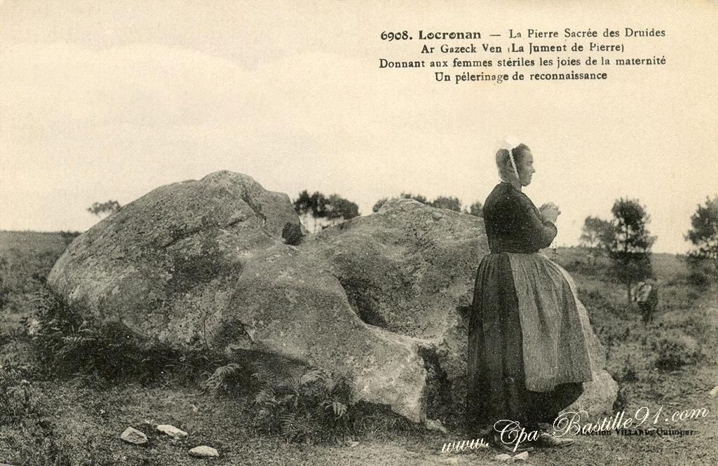 Gareg-Ven  Locronan (Локронан), Бретань, Франция - путеводитель по городу Фестивали Локронана