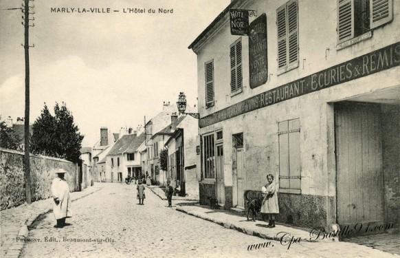 Marly-la-Ville - l'Hotel du Nord