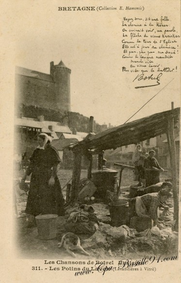 Bretagne - Les Chansons de Botrel - Les Potins du Lavoir