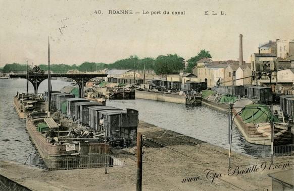 Roanne-Le Port du Canal
