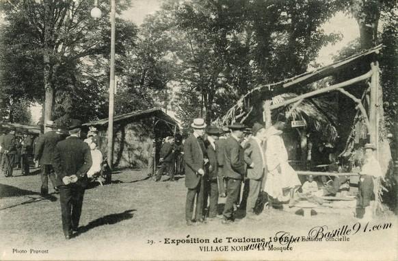 Exposition de Toulouse 1908-Village Noir-La Mosquée