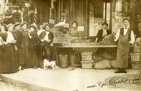 Marchande-de-légumes à Savigny sur Orge