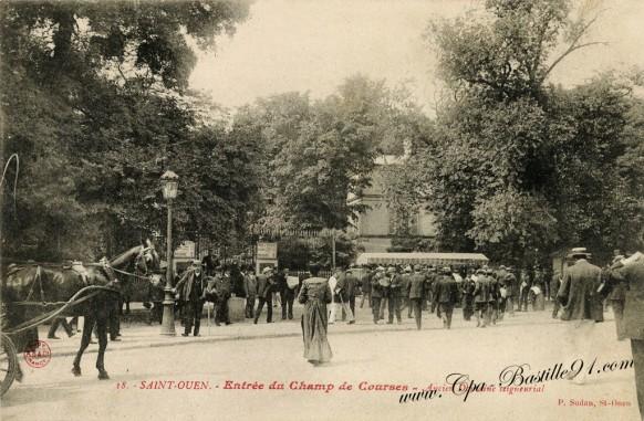 Saint-Ouen-Entrée-du-Champ-de-courses