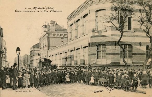Alforville-école-communale-de-la-rue-Villeneuve