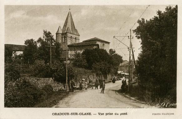 Oradour-sur-Glane-Vue-prise-du-pont.