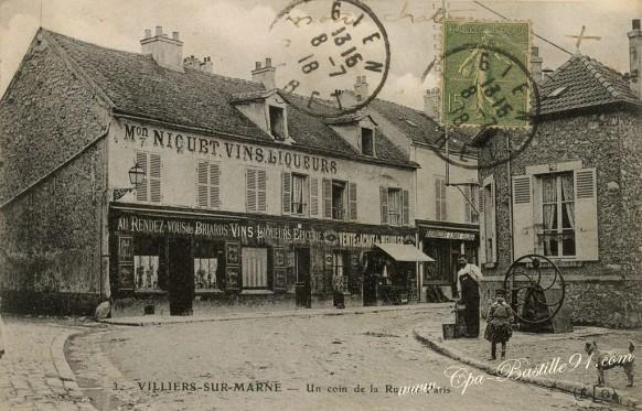 Villiers-sur-Marne-un-coin-de-la-rue-de-Paris