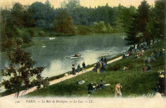 Paris-le-bois-de-Boulogne-le-lac