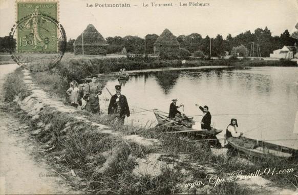 Le Port-Montain - Le Tournant - Les Pêcheurs