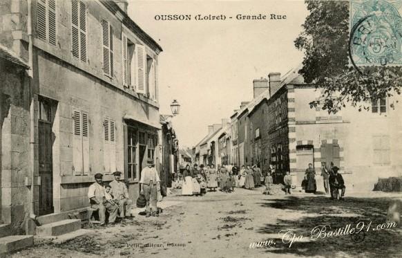 Ousson-Loiret-Grande-Rue