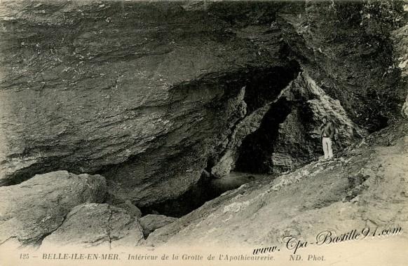 Belle-ile-en-mer-Grotte-de-l'Apothicairerie