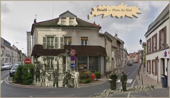 Deuil-Place du Gué-d'hier à aujourd'hui