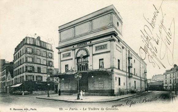 Paris - le Théâtre de Grenelle