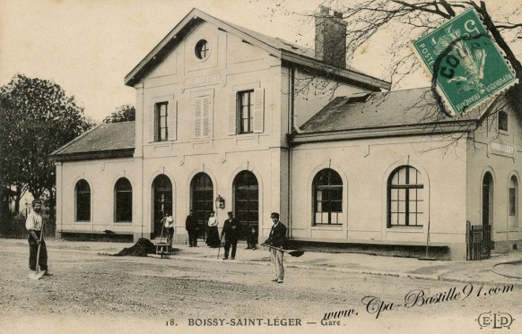 Boissy-Saint-Léger - La Gare- Cliquez sur la carte pour l'agrandir et en voir tous les détails