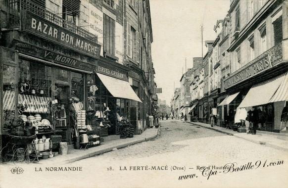 La-normandie-La-ferté-macé-rue-dHautvie
