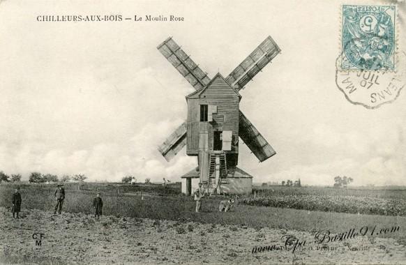 Chilleurs-aux-Bois-Le-Moulin-Rose