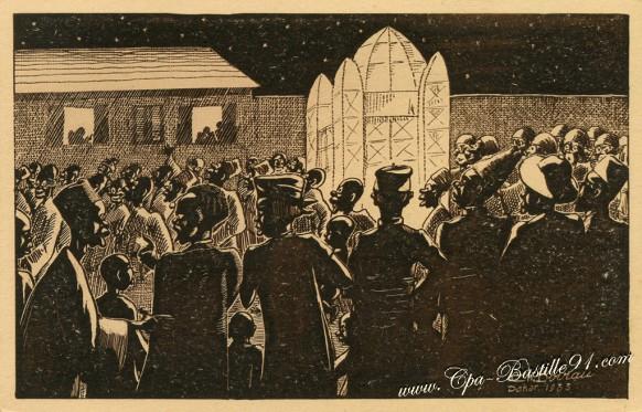 Le-Fanal-de-Noël-Illustrateur-CH-BOIRAU-DAKAR-1933