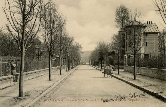 Fontenay-aux-roses-le-boulevard-de-la-république