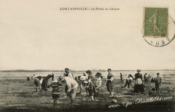 Coutainville-La-Pêche-au-Lançon