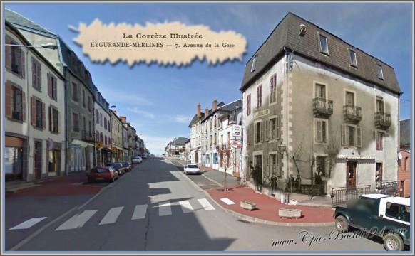 Eygurande-Merlines-dhier-à-Aujourdhui-