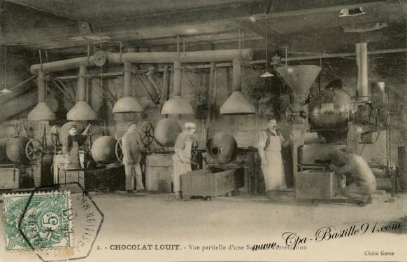 Chocolat Louit - Vue partielle dune salle de torréfaction