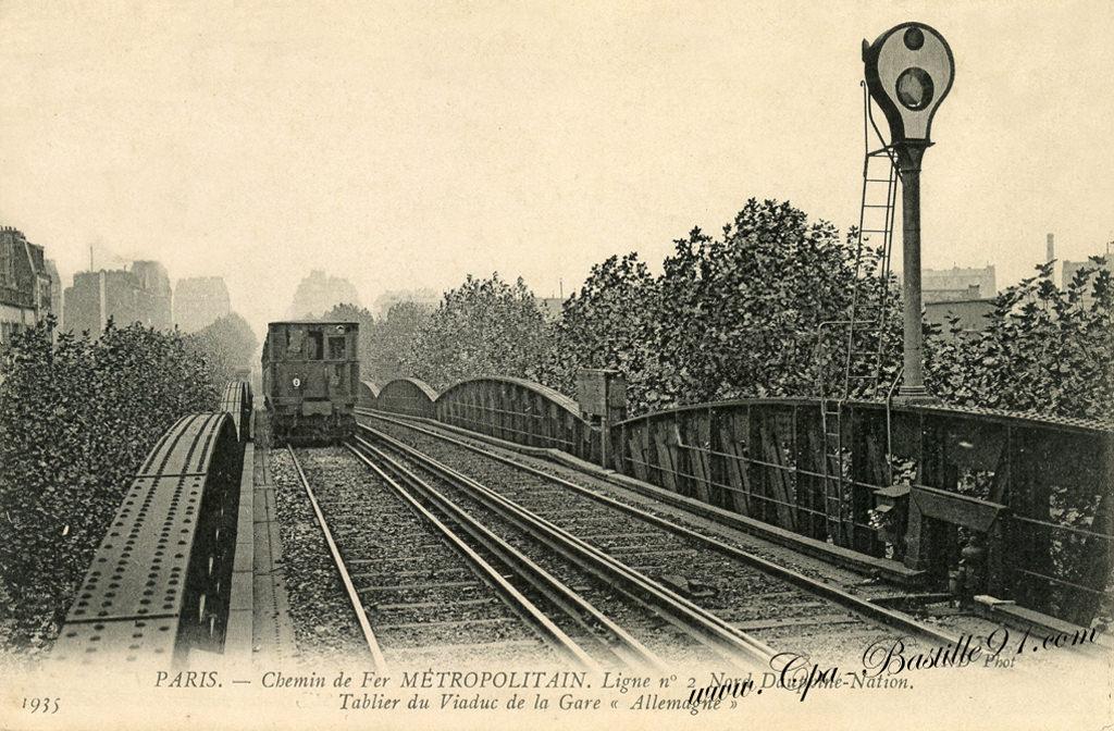M tro cartes postales anciennes - Office du tourisme d allemagne a paris ...