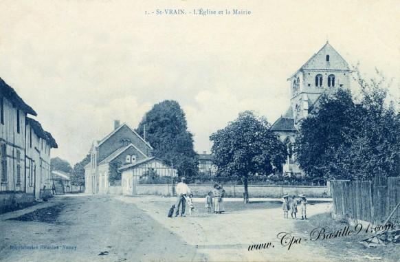 Saint-Vrain-l'église-et-la-mairie