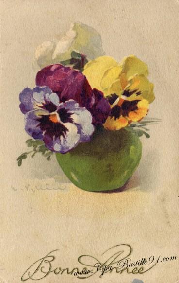 Bonne fête à tous les Armande et Armand avec ce bouquet signé Catharina KLEIN