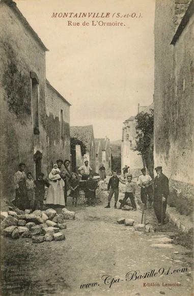 Montainville - Rue de l'Ormoire
