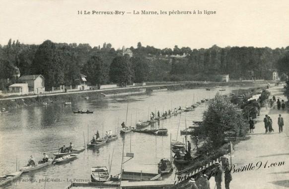 Le-Perreux-Bry-La-Marne-les-pêcheurs-à-la-ligne