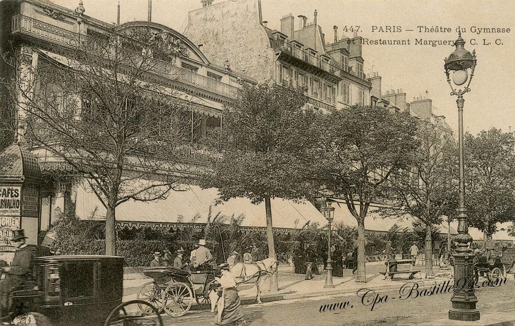 Cafe Le Gymnase Paris