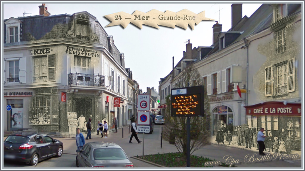 Ville-de-Mer-La-grande-rue-dhier-?-aujourdhui - Cliquez sur la carte ...