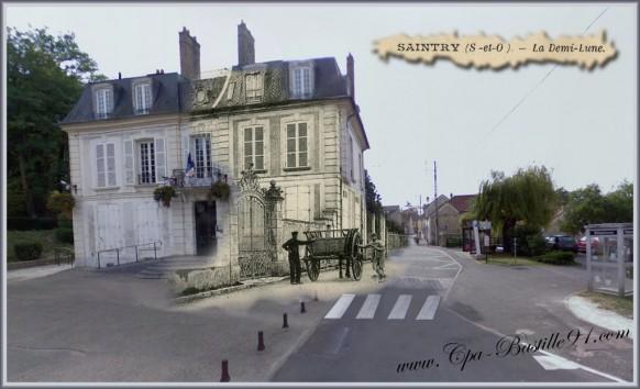 la mairie de saintry d'hier a aujourd'hui