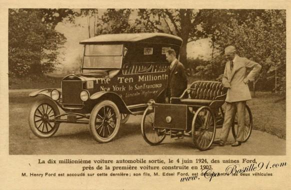 La-dix-millionième-voiture-automobile-des-usines-Ford