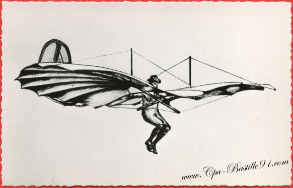 Otto Lilienthal le père du vol plané
