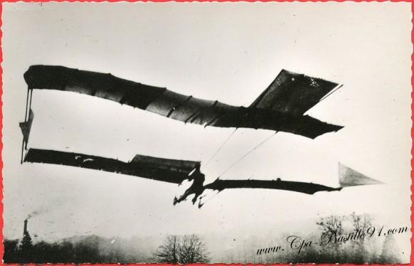 Histoire de l'aviation -1904 Le précurseur capitaine Feber sur son N°5