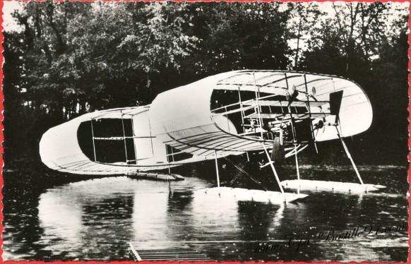 histoire de l'Aviation -1906 - Laéro hydro Blériot Voisin