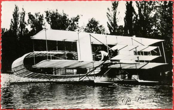 Histoire de l'Aviation - 1906 l'appareil Blériot-Voisin  modifié