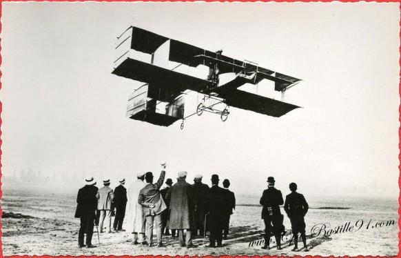Histoire de l'aviation- Le 17 septembre 1908 Delagrange sur Voisin vole